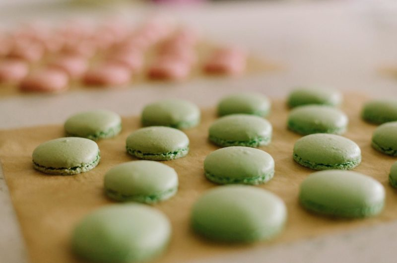 French Buttercream Macarons